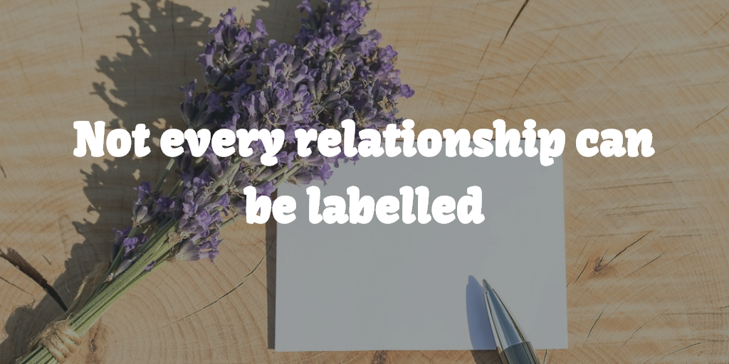 Not every relationship can be labelled